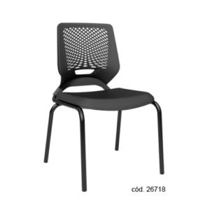 BEEZI - Preta Fixa Cadeira