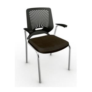 Cadeira - Fixa Preta